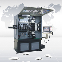 CK960 nine-axis CNC spring forming machine
